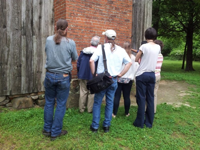 Exhibit Team Visits Stagville